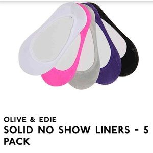 Other - 4 pairs of no show liners/thin socks Youth 2-6